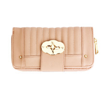 Peněženka Nude Zip Round Twist Lock Purse/Wallet
