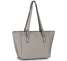 Kabelka L&S Fashion Grey Grab Shoulder Handbag