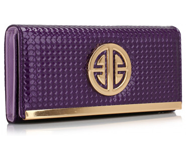 Peněženka Purple Purse / Wallet With Metal Detail - fialová
