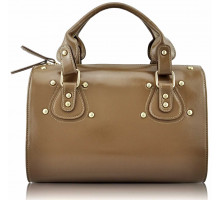 Kabelka Nude Studded Fashion Satchel Handbag