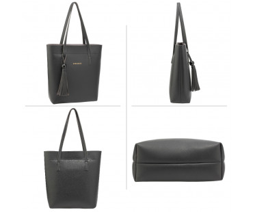 Kabelka - 3 kusový set Black Women's Fashion Handbags