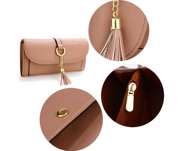 Peněženka Nude Flap Purse/Wallet With Tassel