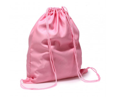 Batůžek Pink Drawstring Backpack