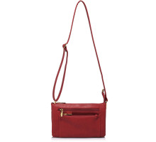 Kabelka Red Shoulder Cross Body Bag - červená