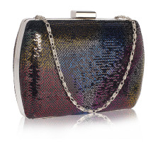 Psaníčko Multi Sequin Clutch
