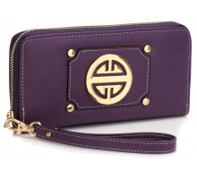 Peněženka Purple Purse/Wallet with Metal Decoration