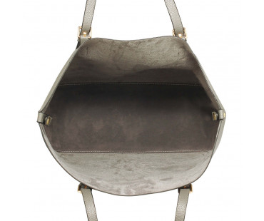 Kabelka přes rameno Grey Shoulder Bag With Removable Pouch