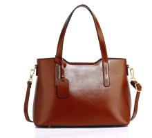 Kabelka Anna Grace Brown Women's Shoulder Handbag - hnědá