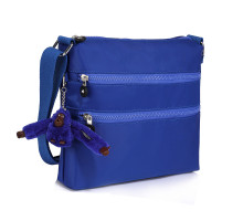 Kabelka Blue Cross Body Shoulder Bag With Bag Charm