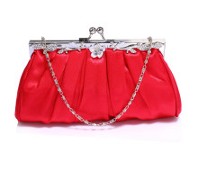 Psaníčko Red Crystal Evening Clutch Bag - červené
