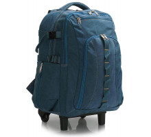 Batoh Navy Backpack Rucksack With Wheels