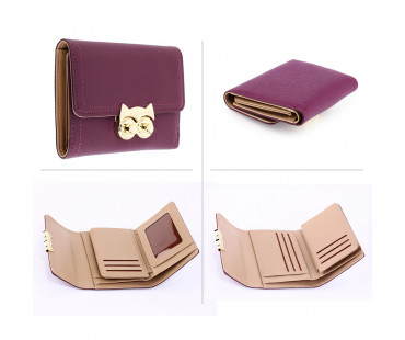 Peněženka Purple Purse/Wallet With Gold Metal Work