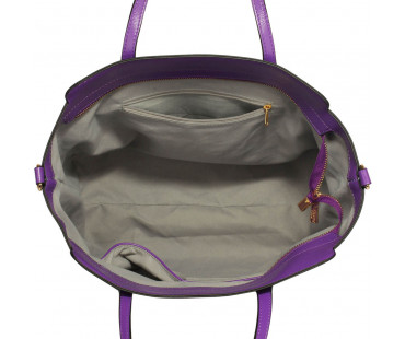 Kabelka Purple Decorative Bow Tie Tote Shoulder Bag