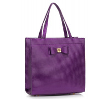 Kabelka Purple Bow Decoration Shoulder Bag