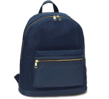 Batoh Navy Unisex Backpack School Bag - modrý