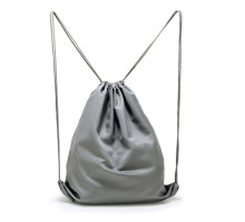 Batůžek Grey Drawstring Backpack - šedý