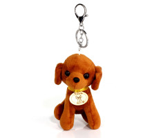 Přívěsek na kabelku Lovely Brown Dog Bag Charms