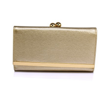 Peněženka Gold Kiss Lock Clutch Wallet / Purses