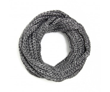 Šála Plain Grey Women's Winter Scarf - šedá