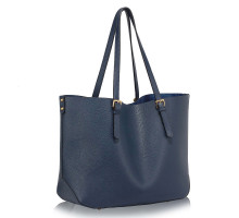 Kabelka Navy Shoulder Bag With Removable Pouch