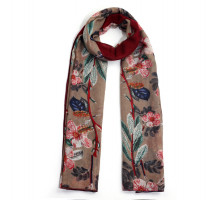 Šátek Floral Print Multi Color Womens Scarf