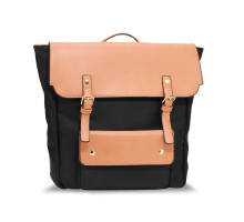 Batoh Black / Nude Backpack Rucksack School Bag