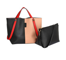 Kabelka Black / Nude Women's Tote Shoulder Bag