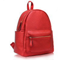 Batoh Red Backpack Rucksack School Bag