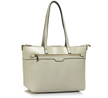 Kabelka Cream Grab Shoulder Handbag