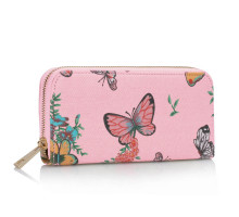 Peněženka Pink Butterfly Design Purse/Wallet