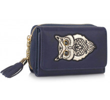 Peněženka Navy Owl Design Purse/Wallet