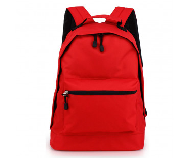 Batoh Red Backpack School Bag - červený
