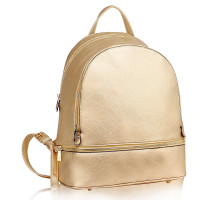Batoh Gold Backpack Rucksack School Bag