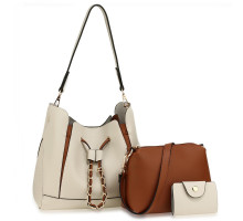Kabelka 3 kusový set Beige / Brown Women's Fashion Handbags