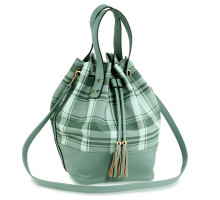 Kabelka Emerald Women's Drawstring Bucket Bag