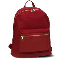 Batoh Burgundy Unisex Backpack School Bag