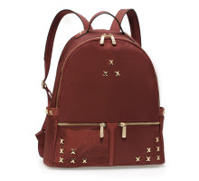 Batoh Burgundy Backpack Rucksack School Bag