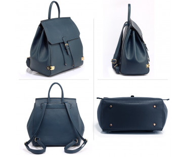 Batoh Navy Backpack High School Bag