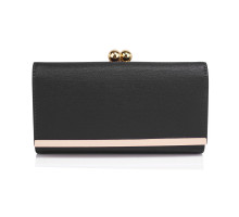 Peněženka Black Kiss Lock Clutch Wallet / Purses