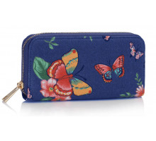 Peněženka Navy Butterfly Design Purse/Wallet