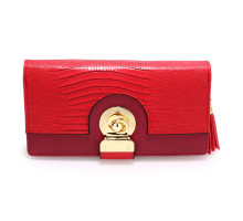 Peněženka Red Twist Lock Purse/Wallet With Tassel