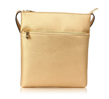 Kabelka Gold Cross Body Shoulder Bag - zlatá