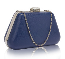 Psaníčko Navy Diamante Crystal Clutch Bag