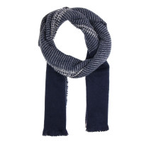 Šála Navy Women's Winter Scarf - modrá