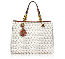 Kabelka Anna Grace White Women's Tote Shoulder Bag