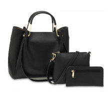 Kabelkový set - Black Women's Fashion Handbags