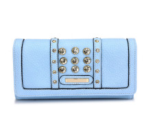 Peněženka Blue Purse/Wallet With Crystal Decoration