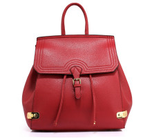 Batoh Burgundy Backpack High School Bag
