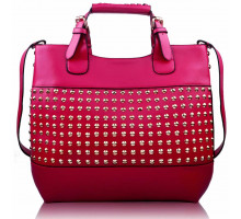 Kabelka Ladies Fashion Studded Tote Handbag