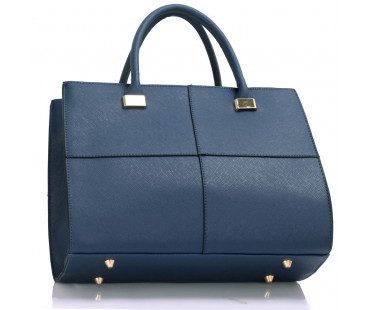Kabelka Large Navy Fashion Tote Handbag